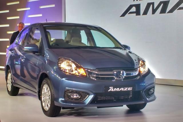 Honda ने 5.29 लाख रुपये में उतारी नई 'अमेज' कार