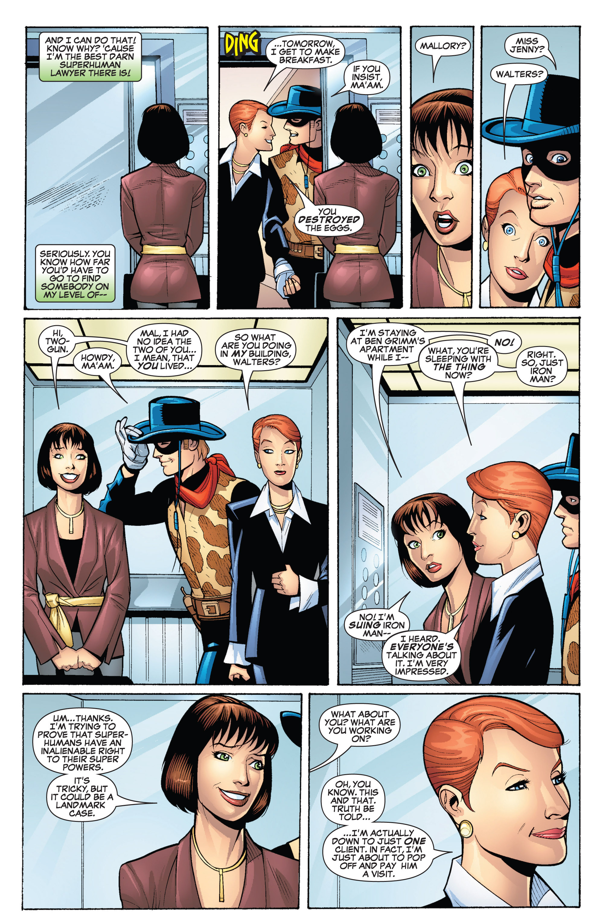 Read online She-Hulk (2005) comic -  Issue #19 - 3