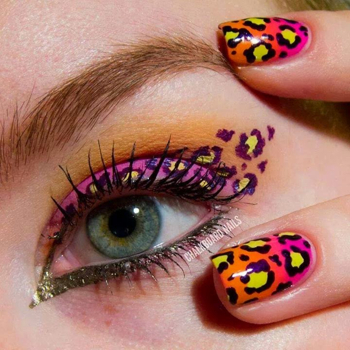 Nails Animal Print | Animal print nails, Nail art hacks