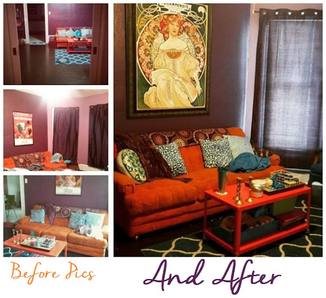The Lovely Side: Transforming My Living Room with a Large ...
