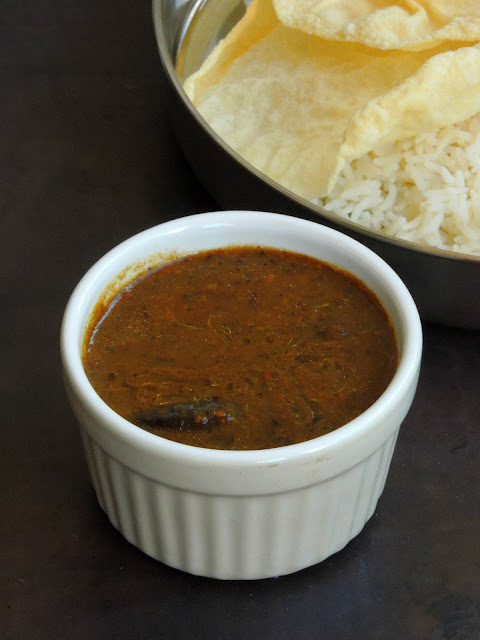 Pepper Tamarind Gravy, MIlagu Kuzhambu, No Onion no garlic Pepper gravy.