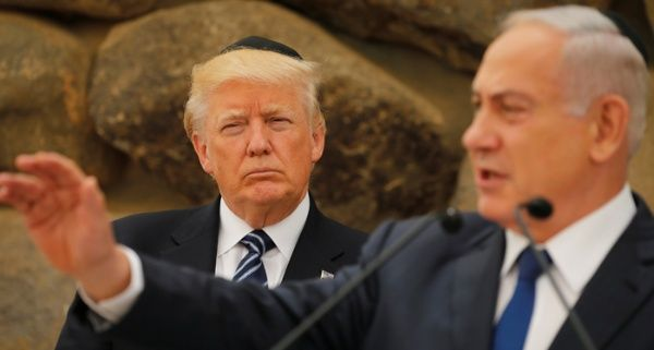 Trump deja Israel sin presentar medidas para el proceso de paz