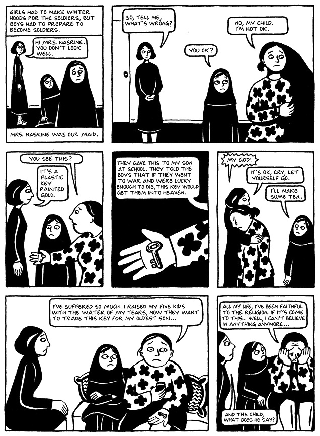 Read Persepolis 1 Section 13 The Key Page 97