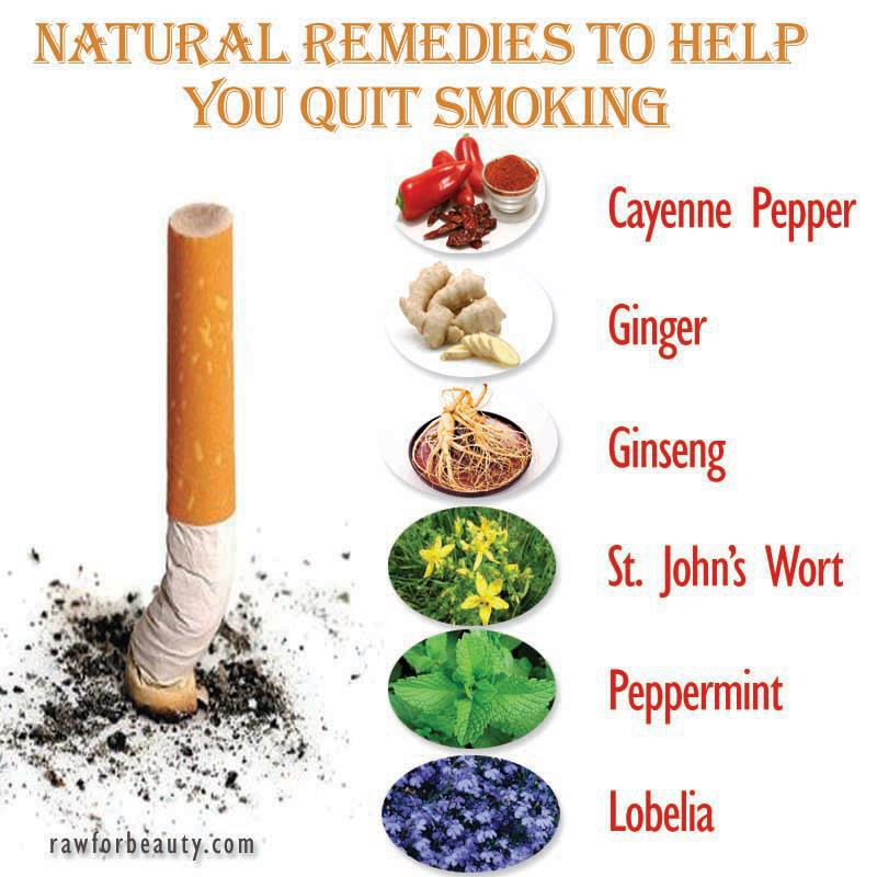 Natural Cures To Quit Smoking