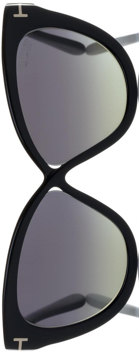 Tom Ford Eyewear Arabella 59MM Polarized Cat's-Eye Sunglasses