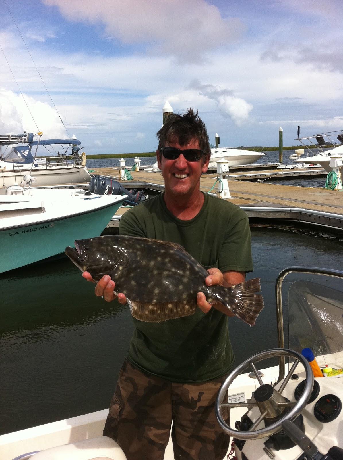 Coastal Georgia Inshore Charters: St Simons Island Fishing