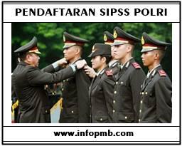 Form Registrasi Calon Siswa SIPSS POLRI Pendaftaran SIPSS POLRI 2019-2020