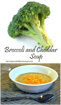 Husband-approved broccoli and cheddar soup!