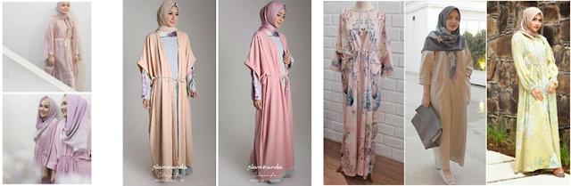 gambar koleksi baju muslim terbaru ria miranda