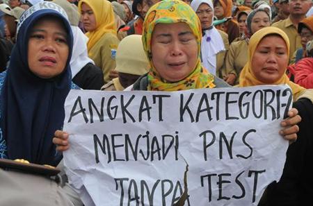 Guru Honorer Mau Jadi PNS? Harus Ditempatkan di Daerah Pelosok