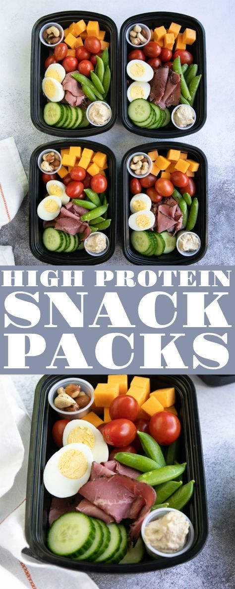 PROTEIN SNACK PACK – LUNCH MEAL PREP #proteinsnackpack #protein #snack #healthysnack #lunch #lunchrecipes #easylunchrecipes #meal #prep