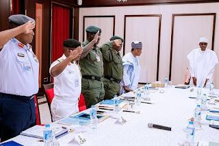 Nigeria Military talks about plan to overthrow Buhari