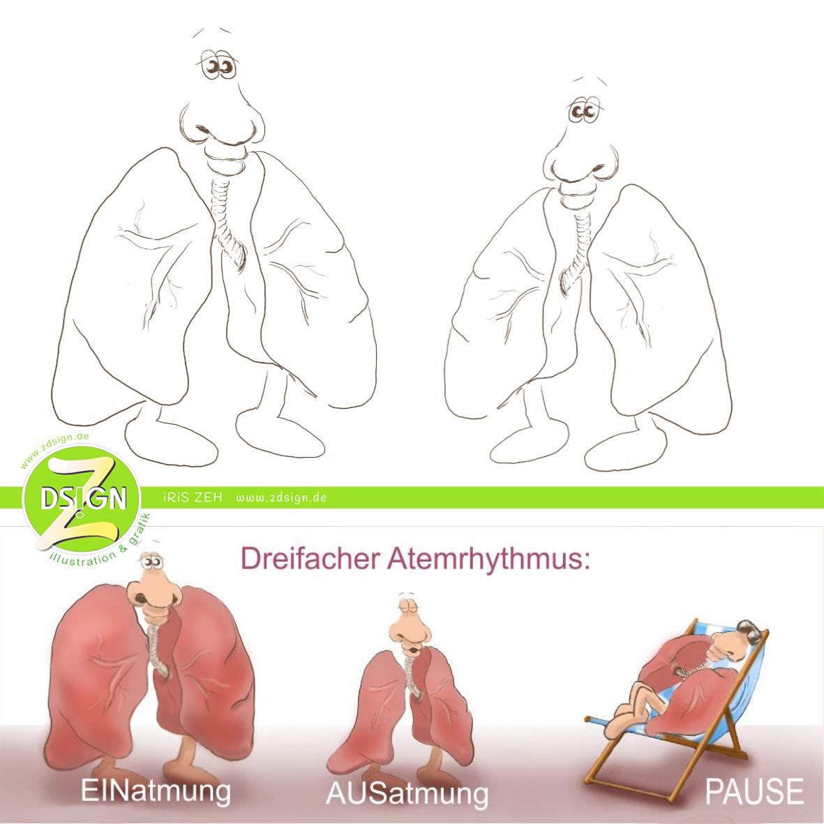 skizzen-der-lungen-namens-pulmanni-und-pulmoni