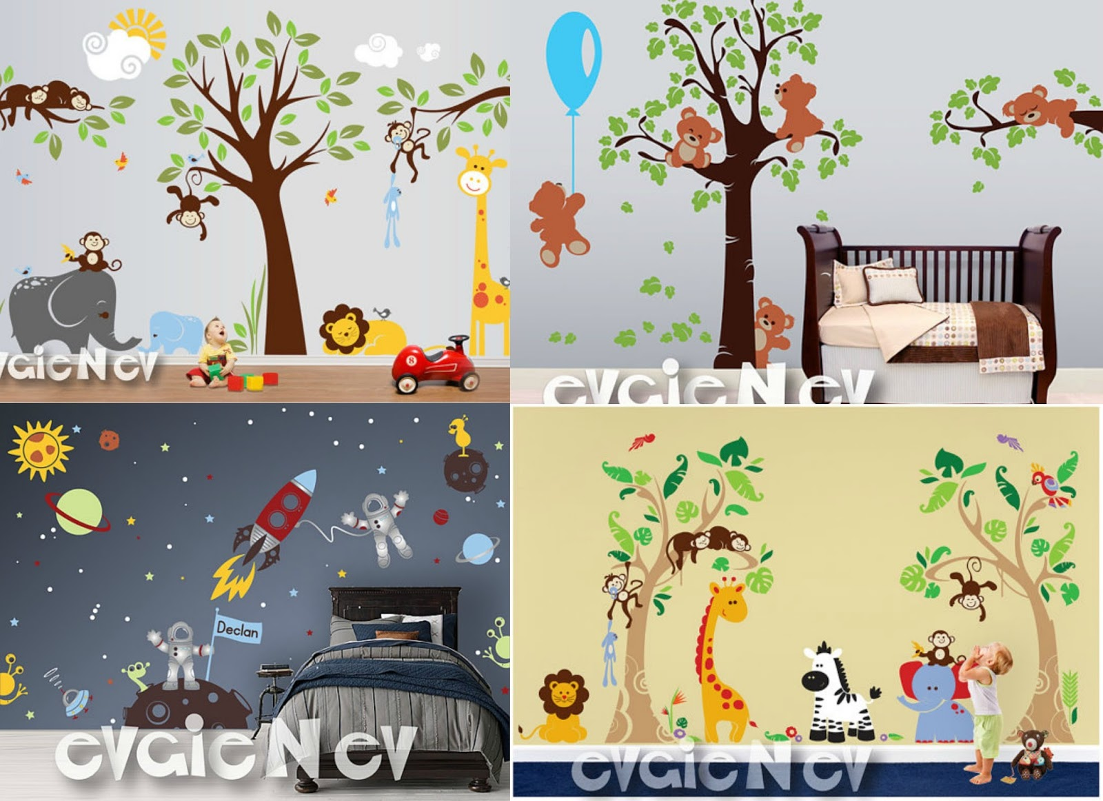 Mail4Rosey: Win a Nursery Makeover from EvgieNev Wall Decals!