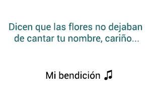 Juan Luis Guerra 4 40 Mi Bendición significado de la canción.