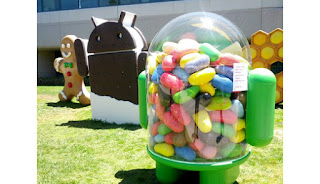 G - Gingerbread - Android version 2.3 I - Ice Cream Sandwich - Android version 4.0 J - Jelly Bean - Android version 4.1, 4.2 and 4.3