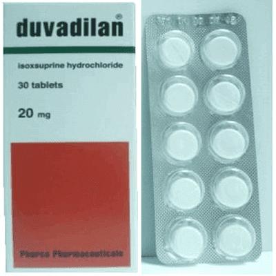 أقراص دوفاديلان لعلاج إضطرابات الدورة الدموية