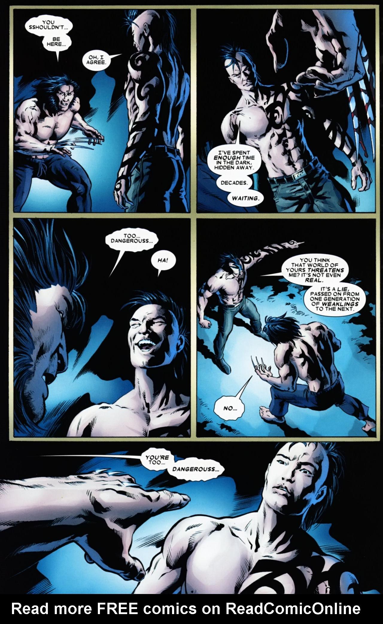 Read online Wolverine: Origins comic -  Issue #49 - 22