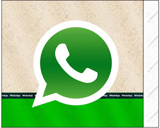 WhatsApp Free Printable Labels.
