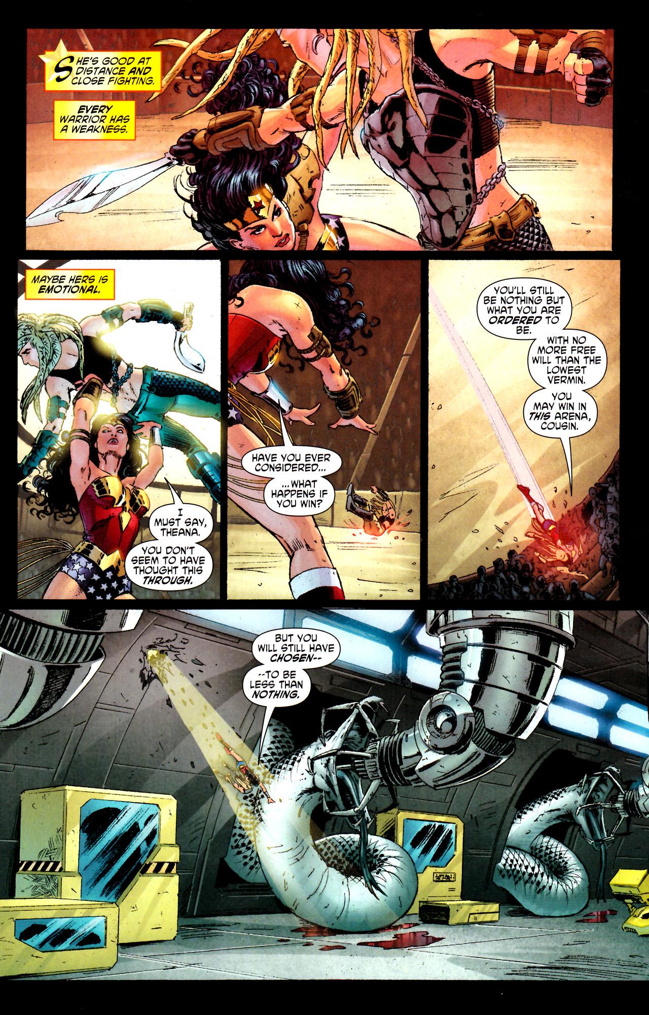 Read online Wonder Woman (2006) comic -  Issue #44 - 11