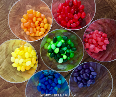 Kids Educational Activities with Jelly Beans