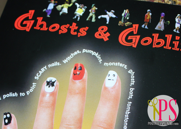 Halloween Pedicure With Klutz Positively Splendid Crafts Sewing