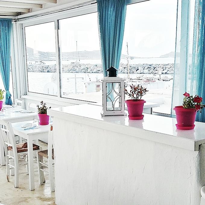 Jelena Zivanovic Instagram @lelazivanovic.Glam fab week.Naoussa restaurant Paros.