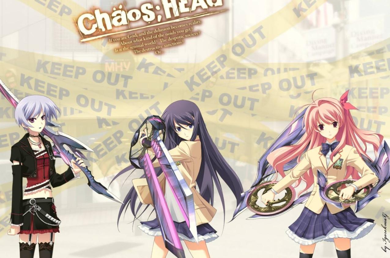 ChäoS;HEAd BD Subtitle Indonesia Batch