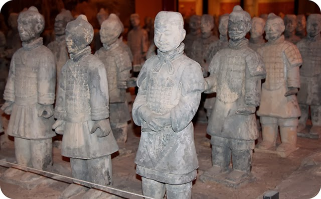 Epcot :  World Showcase : China - Exército de terracota