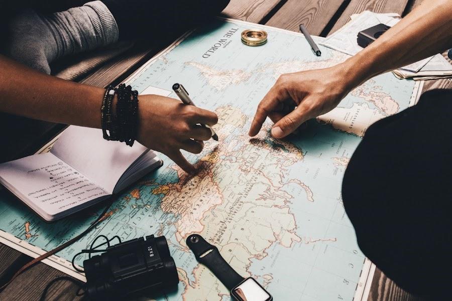 organiza tus viajes