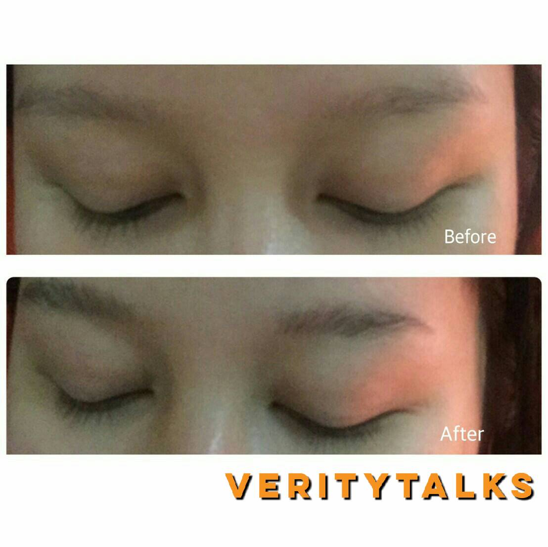 glossier boy brow on sparse brow review verity says