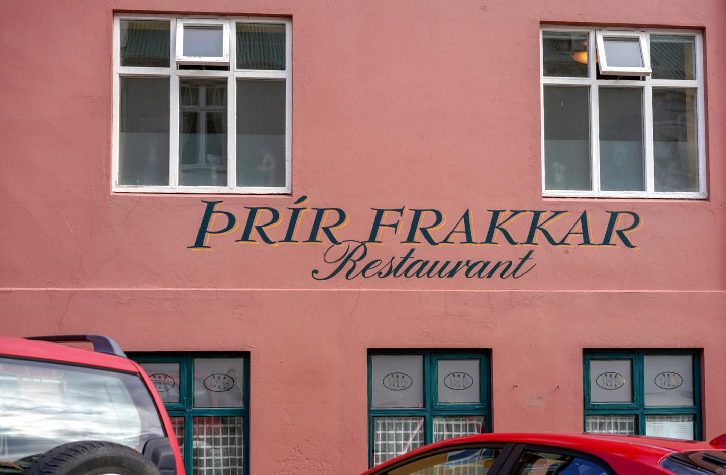 Prir Frakkar, Reykjavik, Iceland