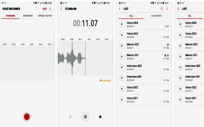 Samsung Voice Recorder Galaxy S8