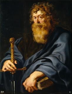 Nomes bíblicos estrangeiros masculinos com P - Imagem: Paulo - Peter Rubens