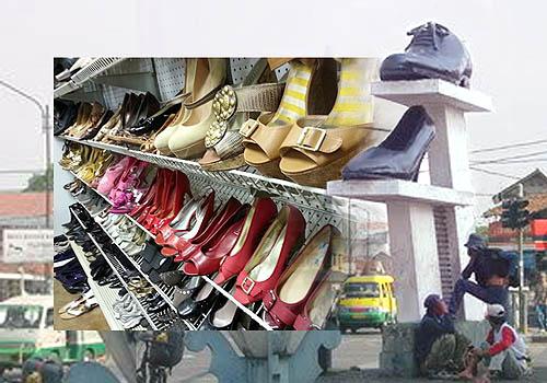 Cibaduyut menjadi pusat penjualan sepatu wanita dengan haga murah