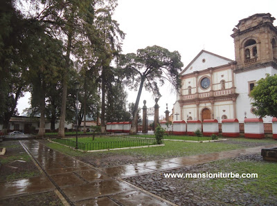 Basilic of Our Lady of Health in Pátzcuaro