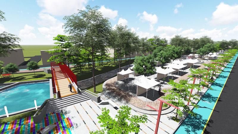 PEMKOT Bandung akan Optimalkan Pemanfaatan Kawasan Sungai Cikapundung