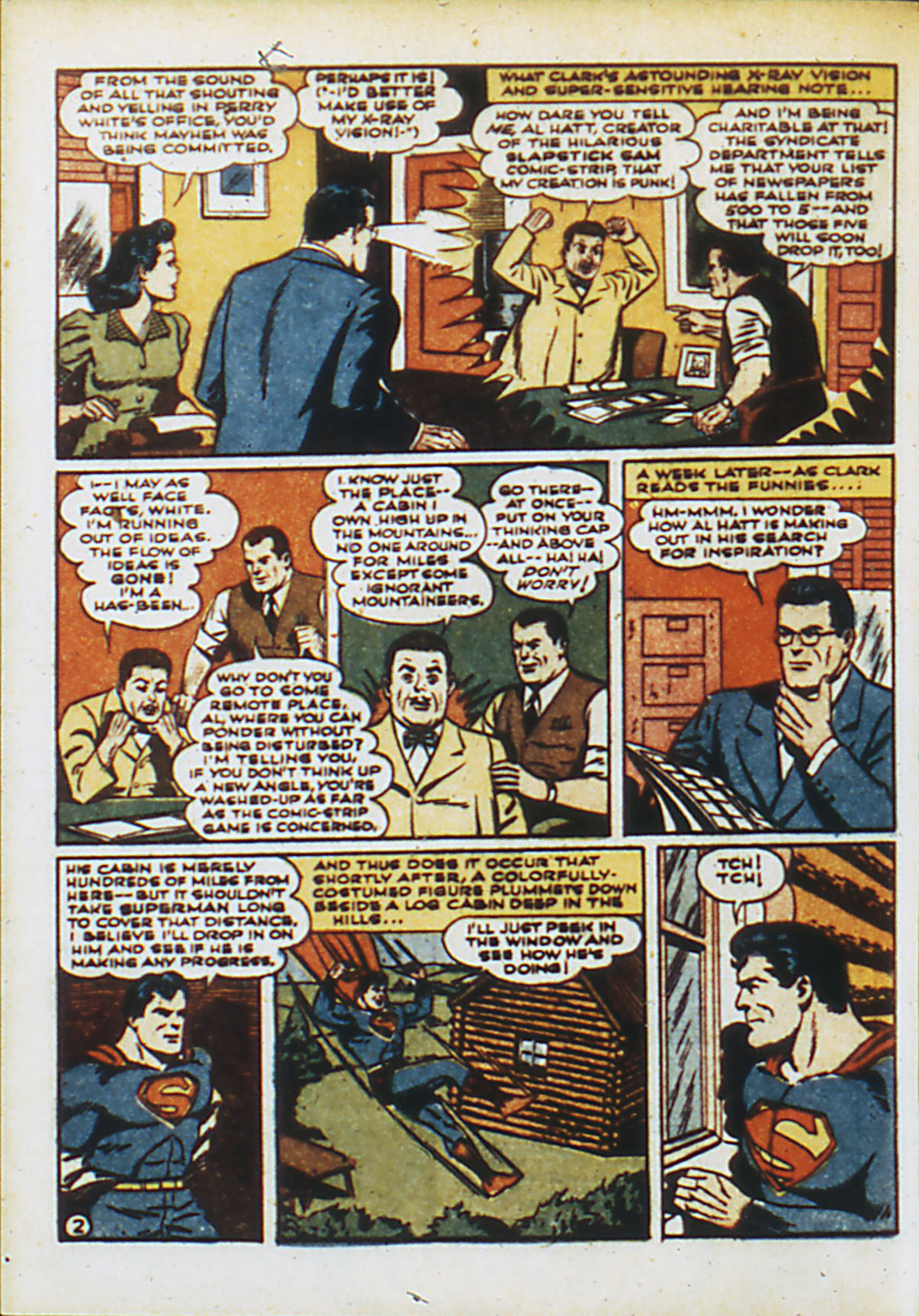Read online Action Comics (1938) comic -  Issue #55 - 5