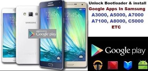 Samsung A3000,A5000,A7000,A8000 etc Bootloader Unlock