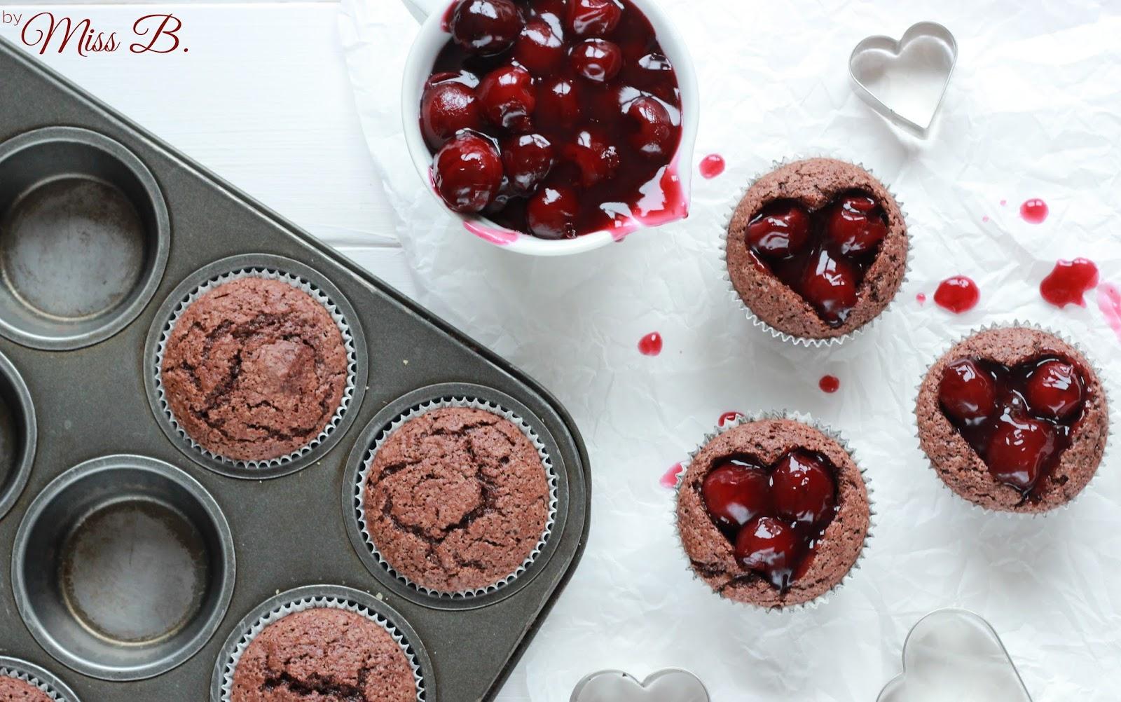 Miss Blueberrymuffin S Kitchen Be My Valentine Brownie Muffins Mit