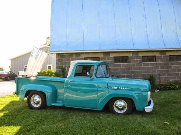 Custom 1960 Ford F100 Stepside