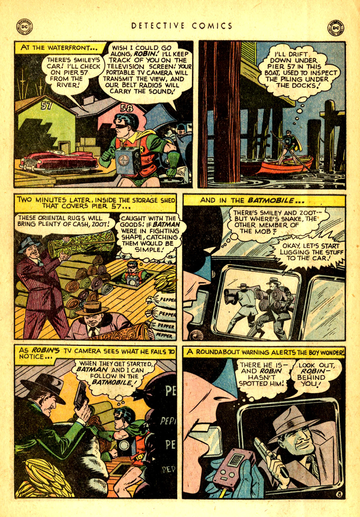 Read online Detective Comics (1937) comic -  Issue #156 - 10