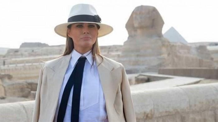 تعرف على تكلفة إقامة ميلانيا ترامب 6 ساعات بالقاهرة