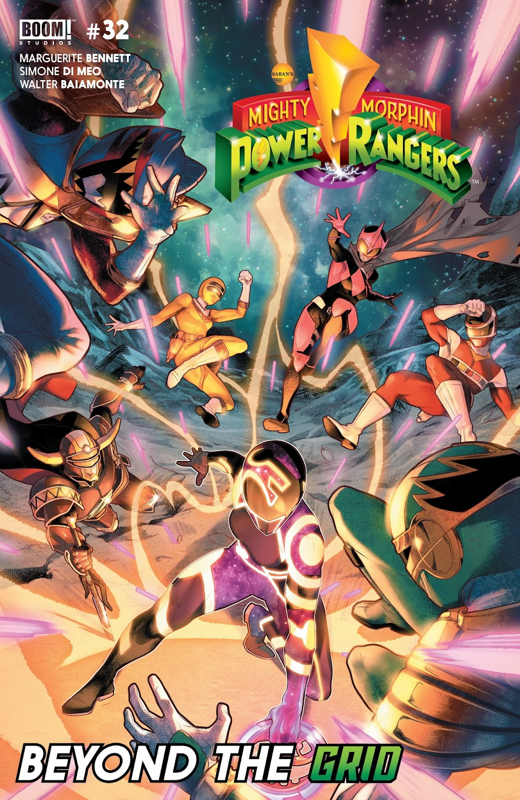 Mighty Morphin Power Rangers issue 32 - Page 1