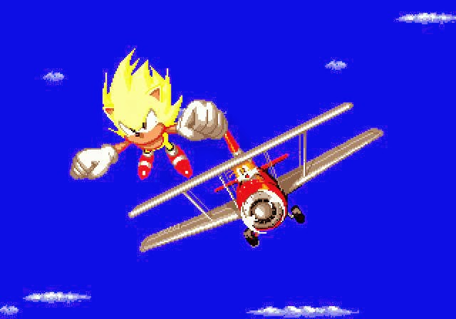 Sonic the Hedgehog, Sonic and Tails, Super Sonic, Sonic the Hedgehog 2, how to go Super Sonic in Sonic 2
