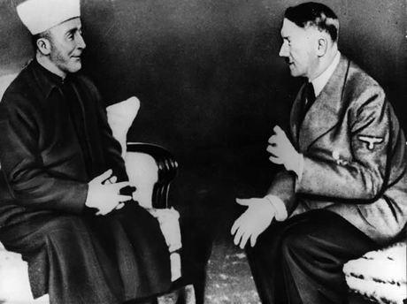 Amin Al-Husseini et Adolf Hitler