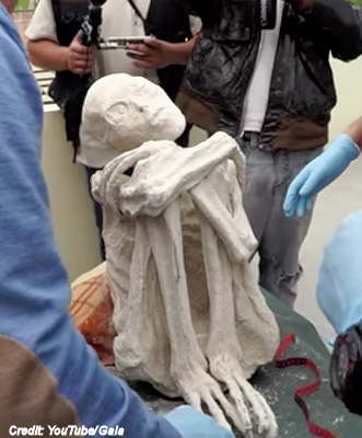 Nazca 'Alien Mummy' Revealed By Serial Hoaxer