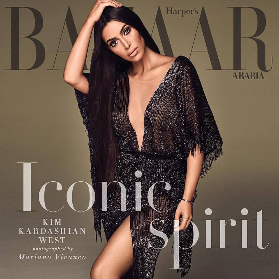Kim Kardashian for Harper's Bazaar Arabia September 2017