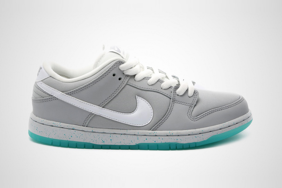 Der Nike SB Dunk Low Premium 'Marty McFly'
