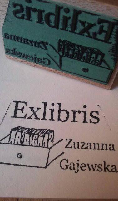 Gadżety mola książkowego: pieczątka EX LIBRIS